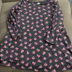 Girls long sleeve shirt Old Navy.